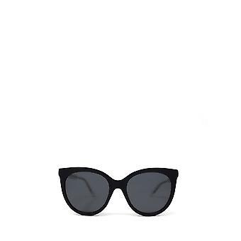 Gucci GG0565S czarne żeńskie okulary przeciwsłoneczne