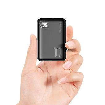 Mini Power Bank, Three Input Digital Display Externe Mobile Portable Charger