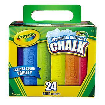 Crayola Lavable trottoir Crayola Craie, 24 Ct