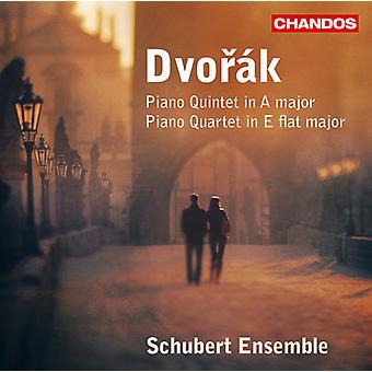 A. Dvorak - Dvor K: Piano Quintet; Piano Quartet [CD] USA import