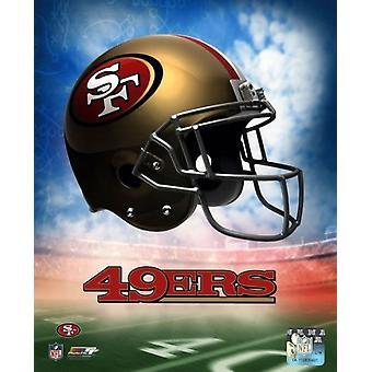 2009 San Francisco 49ers Team Logo Sports Photo