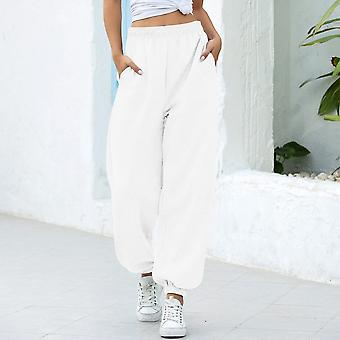 Loose Joggers Wide Leg Sweatpants Women Trousers Soft High Waist Pants