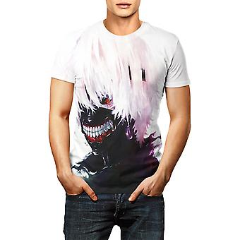 T-shirt Tokyo Ghoul Men Women Blood Casual Printed Anime Tops Tees's Clothes