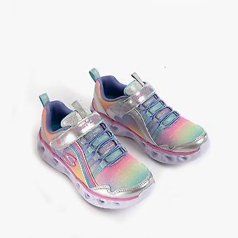Skechers Heart Lights Rainbow Lux Girls Light-up Formatori Smlt
