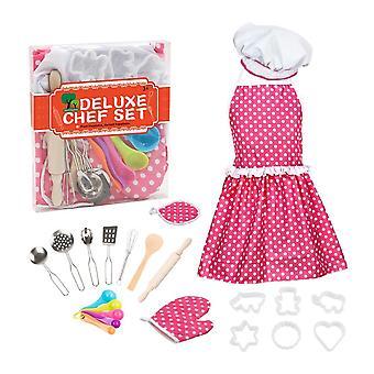 Outil de cuisson Tablier Chef Hat Baking Tool (Ensemble 22pcs)