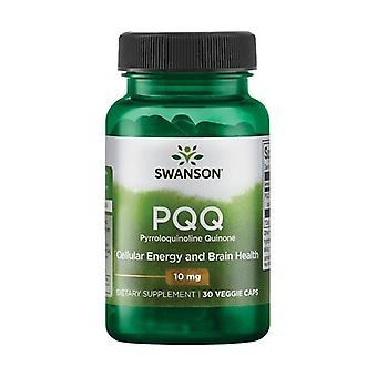 PQQ Pyrroloquinoline Quinone, 10mg 30 vegetable capsules