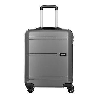 travelite Yamba Handbagage Trolley S, 4 wielen, 55 cm, 37 L, grijs