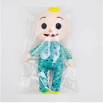 15-33cm Cocomelon Plush Toy Cartoon Family Cocomelon Jj Family Sister Brother Mom And Dad Toy Dall Kids Chritmas Gift