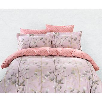 Juego de sábanas de cubierta de edredón, ropa de cama Dolce Mela Bologna Queen Size