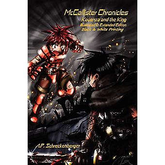 McCallister Chronicles - Kouenza and the King - Black & White Illu