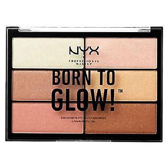 NYX  Born To Glow Hervorhebungspalette