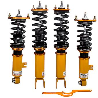 24 Way Coilover Kits For Nissan 300ZX Z32 2+2 Coupe 2-Door 90-96 Struts Shock