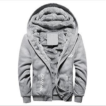 Daiwa Angeln Kleidung, Hoodies, Outdoor Sweatshirt mit Mütze