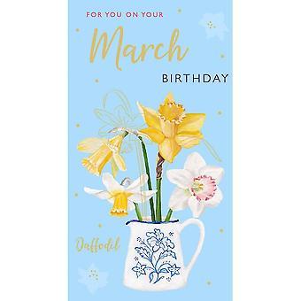 ICG Ltd March Birthday Card