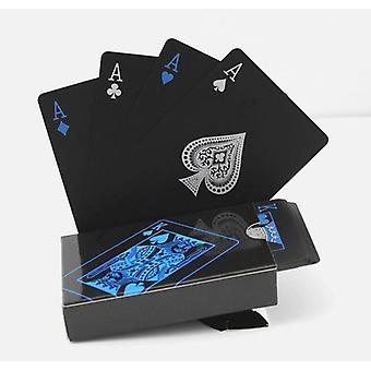 مجموعة بطاقات اللعب البلاستيكية