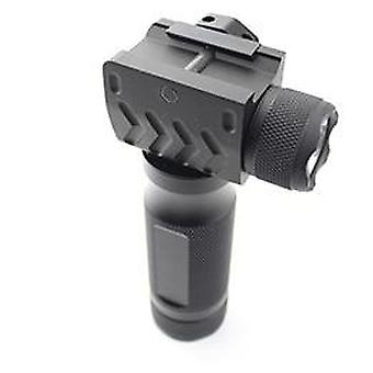 Tactical Fore Grip Light Led Flashlight With  Laser