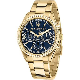 Maserati R8853100026 Montre-bracelet Competizione Gold Tone Bracelet Homme
