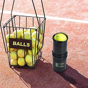 Paineistettu tennispallovaraston korjaussäiliö