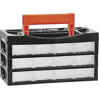 Alutec 66009 Assortment case (L x W x H) 128 x 34 x 68 mm No. of compartments: 12 1 pc(s)