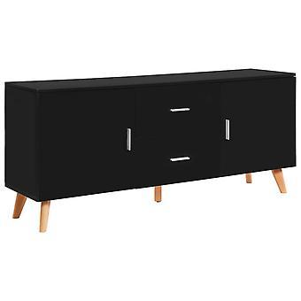 vidaXL sideboard noir 160×40×70 cm MDF
