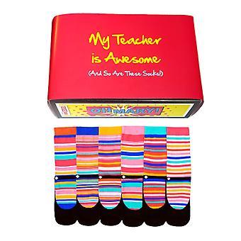 Awesome Učiteľ Darček rôzne Oddsocks