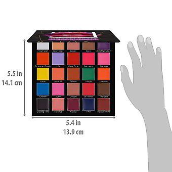 SHANY Dream Team Lip Palette - 25 cream läppstift med 11 djärva färger, 8 klassiska nyanser och 6 nakna toner med en matt finish