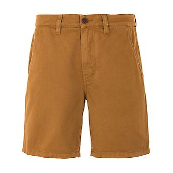 Nudie Jeans Co Luke Rigid Twill Worker Shorts - Hazel