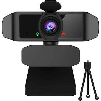 FengChun Webcam mit Objektivdeckel, Streaming Webkamera mit Autofokus/Stereo Mikrofon für Computer,