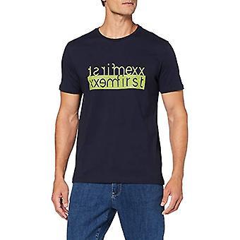 Mexx T-Shirt, Blue (Black Iris 193921), Small Man
