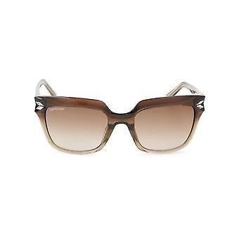Swarovski - Accessories - Sunglasses - SK0170-47F - Women - saddlebrown,darkolivegreen