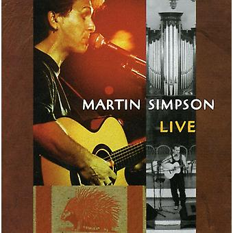 Martin Simpson - Live [CD] USA import