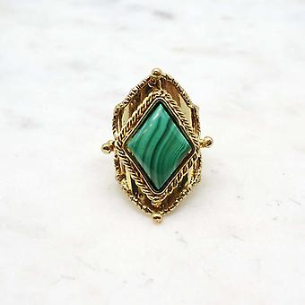 Niiki Women's Ring Paris - NCR142M - Green - Colors Collection