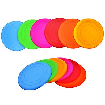 Funny Silicone Flying Saucer Dog Cat Toy Dog