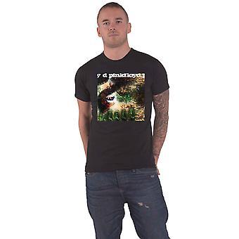 Pink Floyd T Shirt Saucer Full of Secrets Band Logo new Official Mens Black
