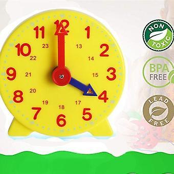 Heure d'horloge d'apprentissage des étudiants Montessori