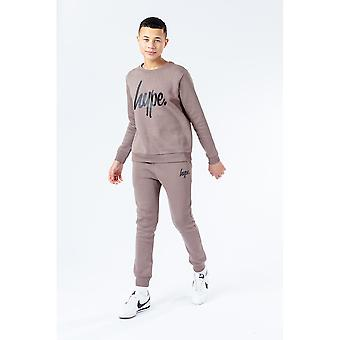 Hype Childrens/Kids Falcon Script Sweatshirt