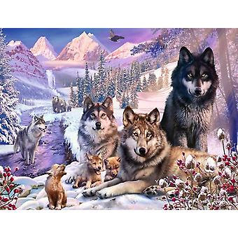 Ravensburger Wolves in the Snow Jigsaw Puzzle (2000 Pieces)