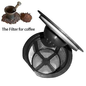 3pcs Coffee Filter Stainless Steel Net Coffee Filter Cup With Cover Design