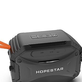 Открытый водонепроницаемый мини Bluetooth динамик портативный беспроводной громкоговоритель Fm| Портативные динамики (черные)