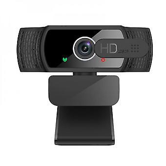 Webcam hd 1080p com microfone