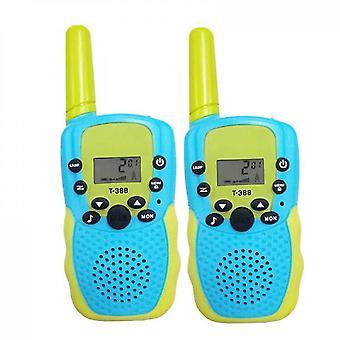 2pcs Children's Walkie Talkie,parent Child Interactive Toys(Blue)