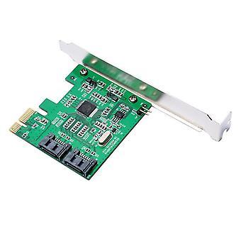 IO-PCE9120-2I PCI-E naar 2 SATA 3.0 Uitbreidingskaart SSD Boot 4TB voor desktop