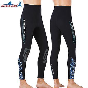Wetsuits Bottoms Men Women Scuba Diving Surfing Pants