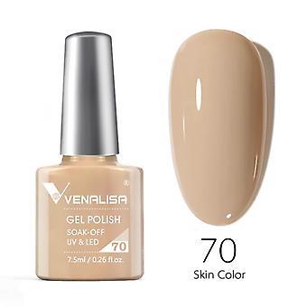 Nail gel polish high quality nail art salon 60 hot sale color 7.5ml  soak off organic uv led nail gel varnish