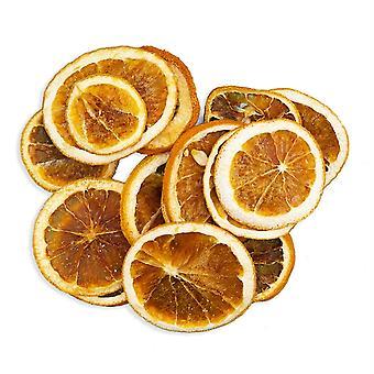 10pc torkade apelsinskivor floristry och krans gör hantverk utsmyckning