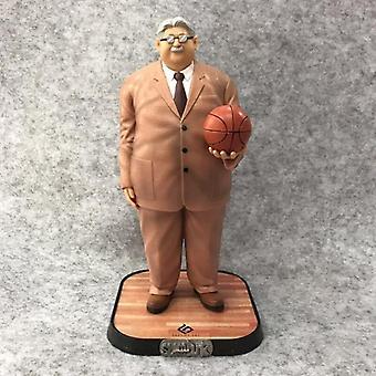 Mitsuyoshi Anzai Figurine Anime SLAM DUNK Figure SHOHOKU Basketball Team Coach Anza PVC