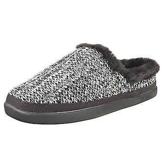 Toms Sage Womens Slippers Shoes in Black Multicolour