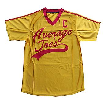 Hommes #16 Peter Lafleur Moyenne Joes Dodgeball Jersey T-shirt Dodgeball Film Peter Lafleur Costume T-shirt