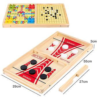 Winner Board Games Interactive Chess Toy Board Table Game Bouncing Chess Desktop