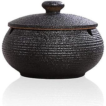 Cendrier en céramique avec couvercle pour la décoration de table 2